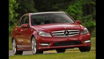 Mercedes Classe C amplia vantagem sobre BMW Série 3 em março
