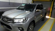 Nova Toyota Hilux 2016 já tem data marcada para estreia