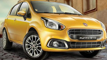 Fiat Punto Evo facelift introduced in India with 'reindeer' headlights
