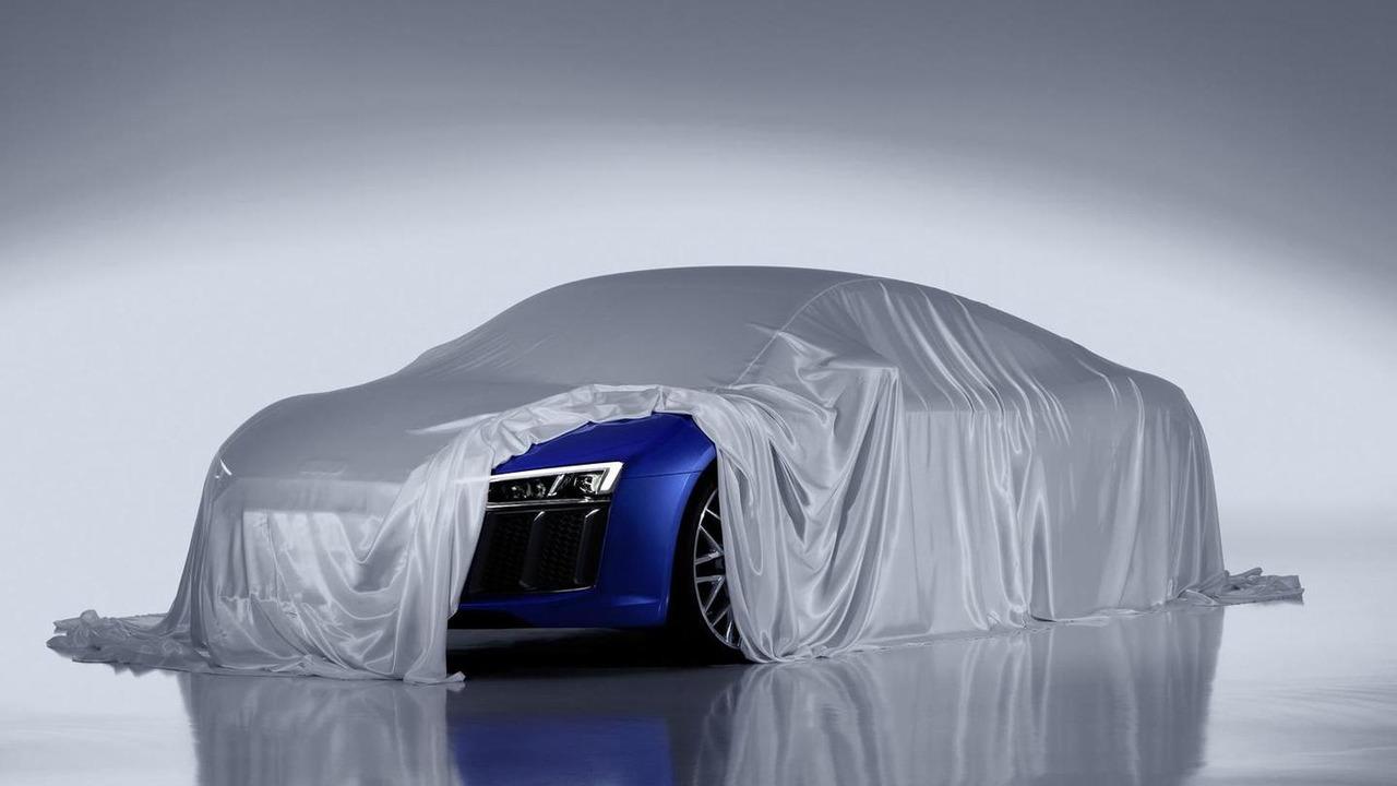 2015 Audi R8 teaser