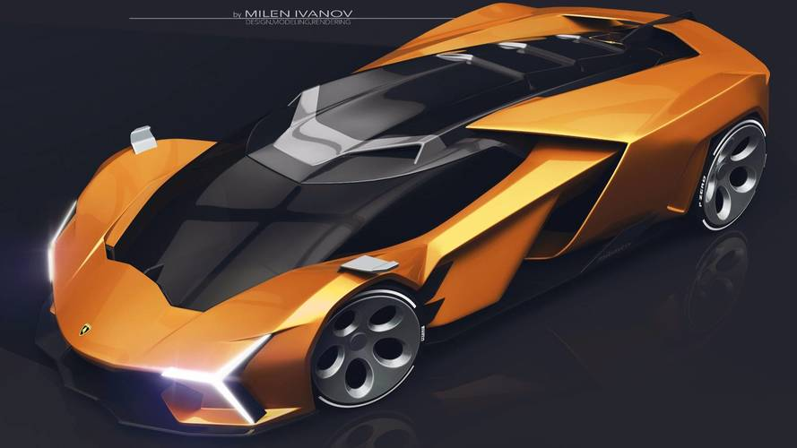 Lamborghini Concepto X Render
