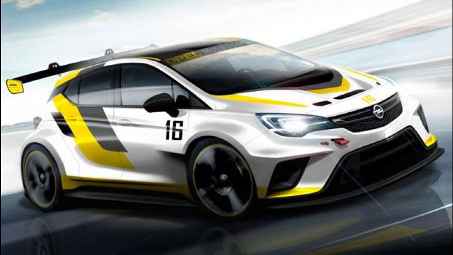 Opel Astra, ecco quella del TCR