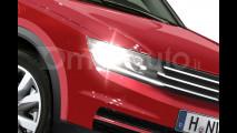 Volkswagen Tiguan, il rendering della nuova generazione