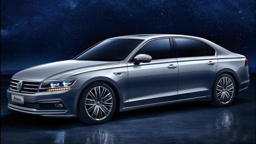 Volkswagen Phideon, l'ammiraglia che vede al buio