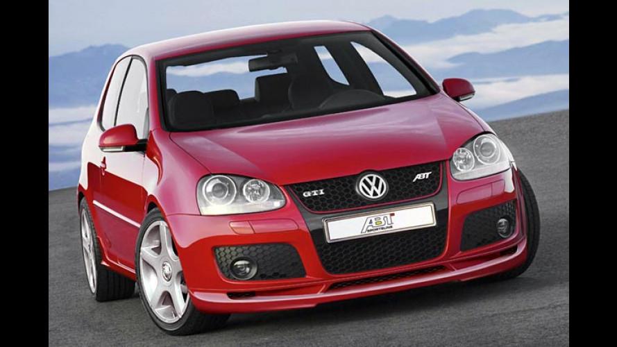 ... aber hallo, GTI: Der Abt hat den neuen Power-Golf beflügelt