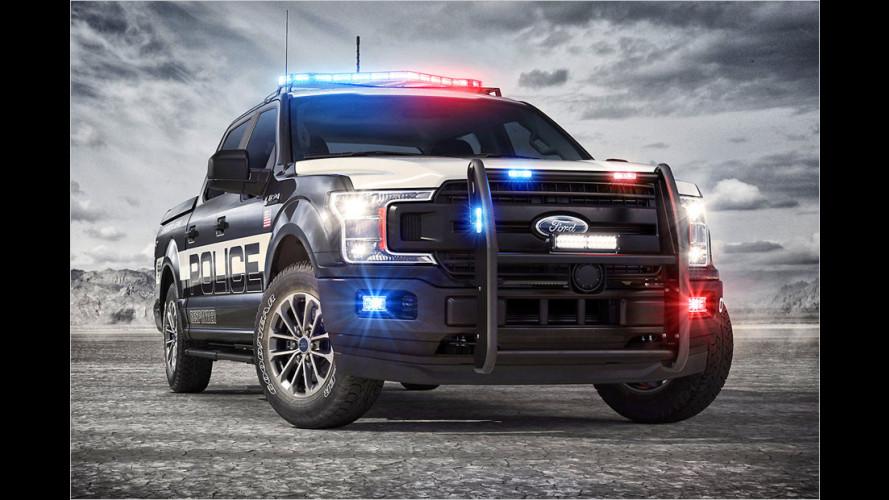 Polizei-Pick-up für den Sheriff