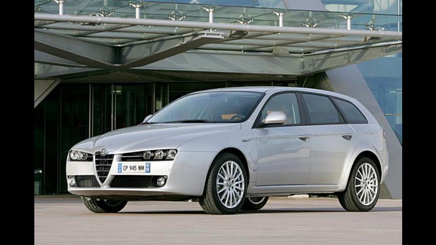 Alfa 159 Sportwagon: Der schöne Sportkombi startet