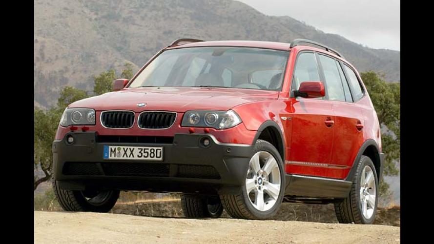 BMW X3 3.0i: Der Racer unter den Geländewagen