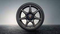 Porsche llantas fibra de carbono