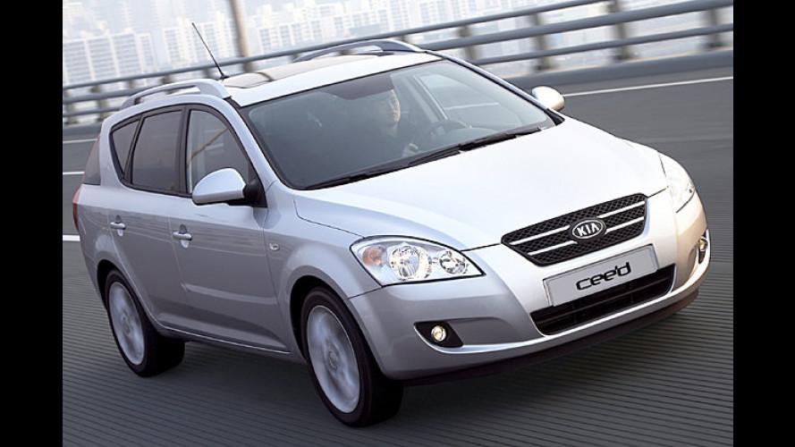 Produktion des Kia Cee'd Sporty Wagon vorzeitig angelaufen