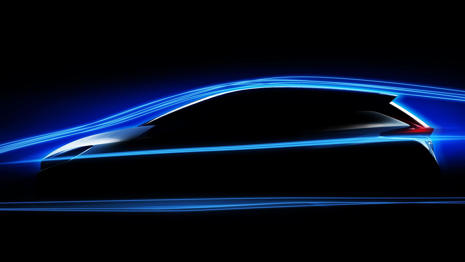2018 nissan leaf is lower  more aerodynamic for improved range