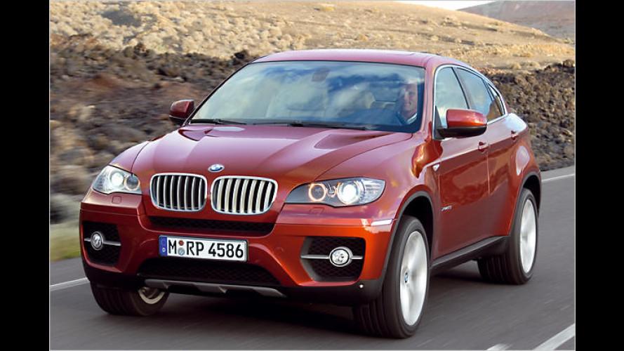 BMW in Detroit: Messepremiere für Serien-X6 und 1er Cabrio