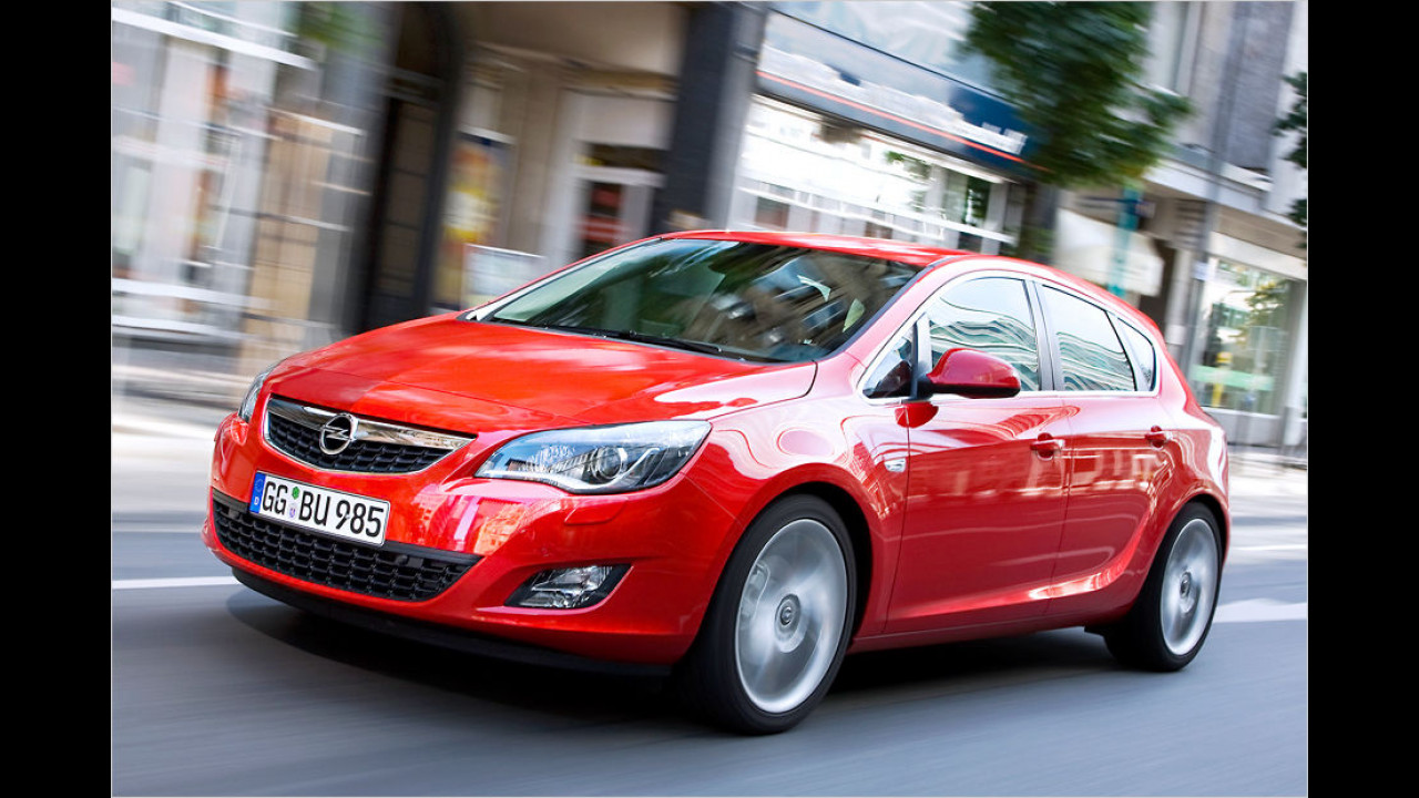 Opel Astra 1.6 Selection (116 PS): 32,8 Prozent