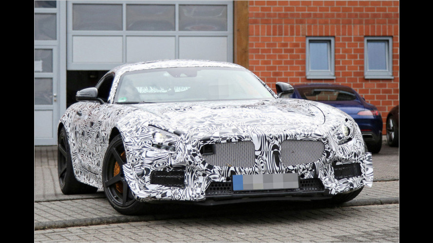 Schärferer Mercedes-AMG GT kommt