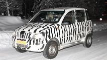 Mahindra Mini Xylo spied cold weather testing