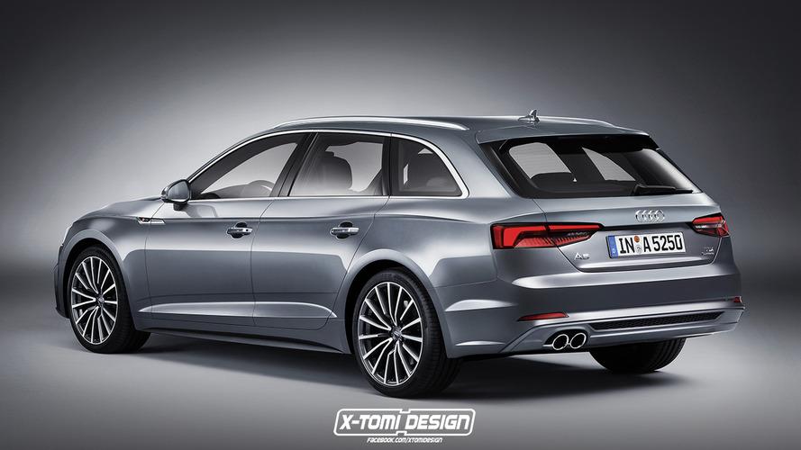 2018 Audi A5 Avant rendering is quite the looker