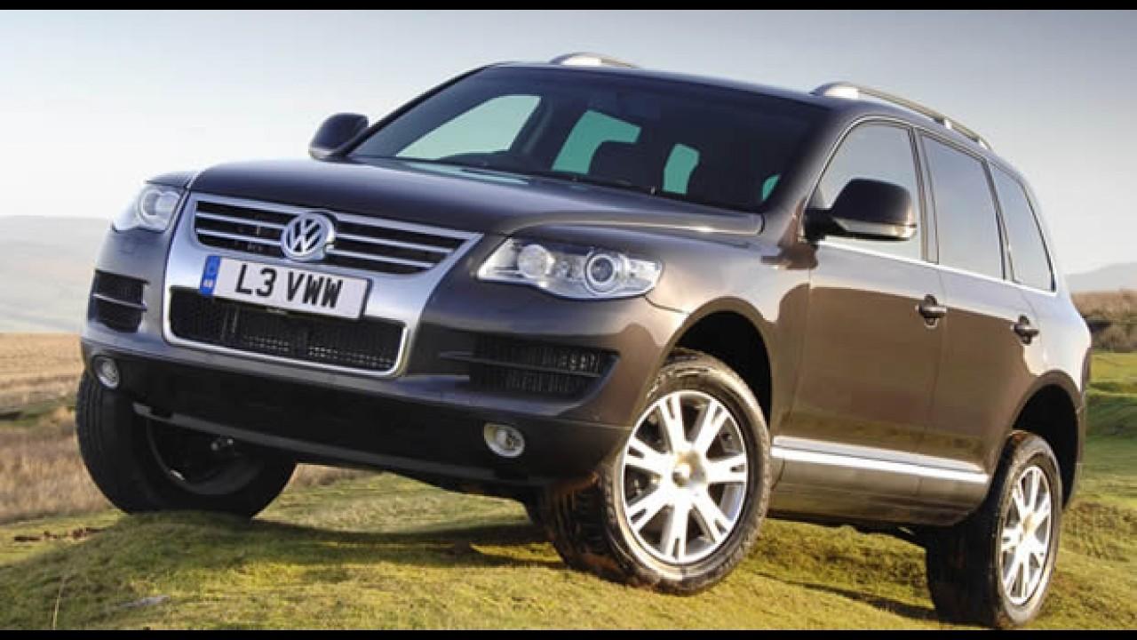 Volkswagen anuncia Recall do Touareg para reforço do