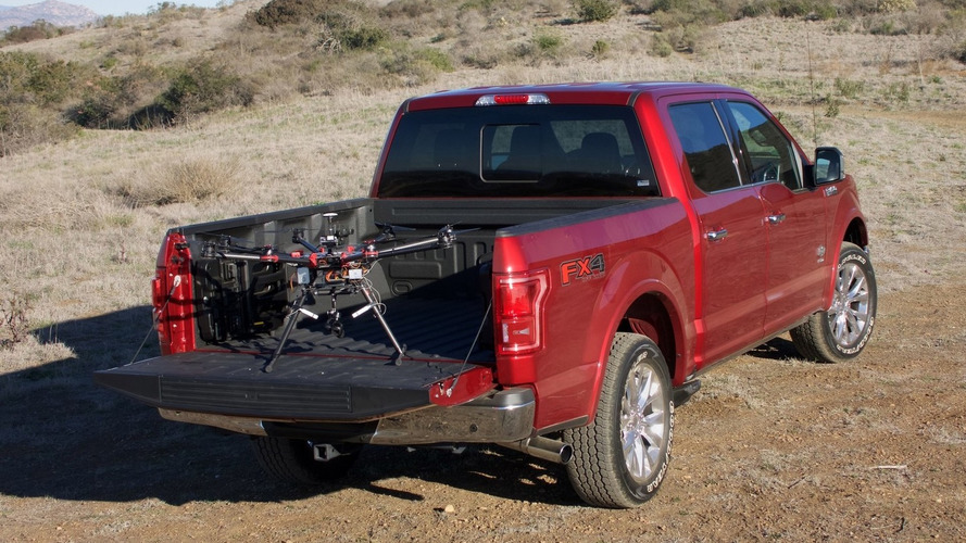 Ford launches drone-to-vehicle challenge, aims to create a disaster area surveying system [videos]