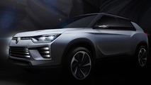 SsangYong SIV-2 concept teaser