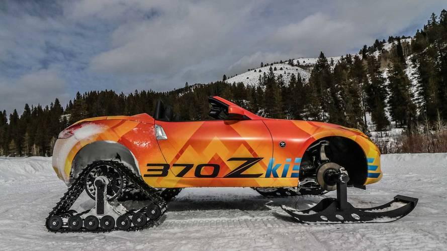 Nissan 370Zki en çılgın iki kişilik kar aracı!