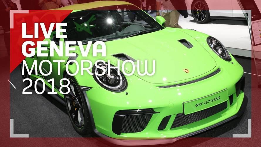 Genève 2018 - La Porsche 911 GT3 RS en vidéo