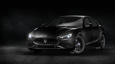 Maserati, un Salone di Ginevra Nerissimo