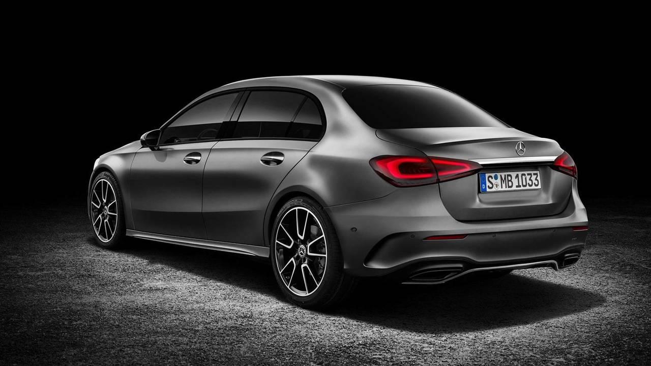 Mercedes-Benz A-Class Sedan Rendering