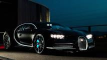 Bugatti Chiron liegt auf Kurs