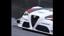 Alfa Romeo Giulia DTM, il rendering
