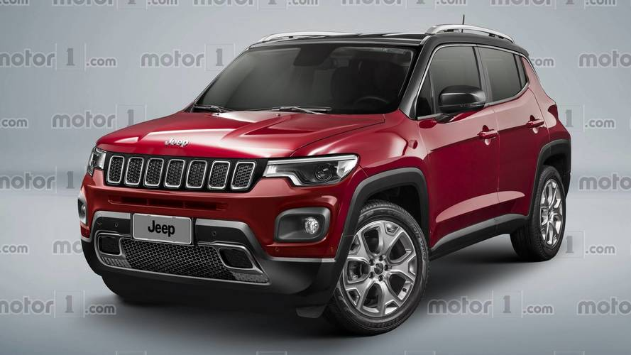 Rumored Baby Jeep Shaping Up Nicely In Our Speculative Render