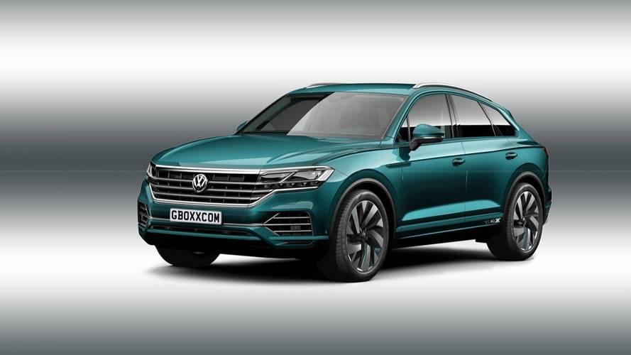 Volkswagen Touareg Coupé 2018, un render muy atrevido