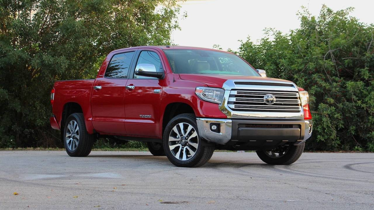 2018 Toyota Tundra Limited Crewmax Review Motor1 Com Photos
