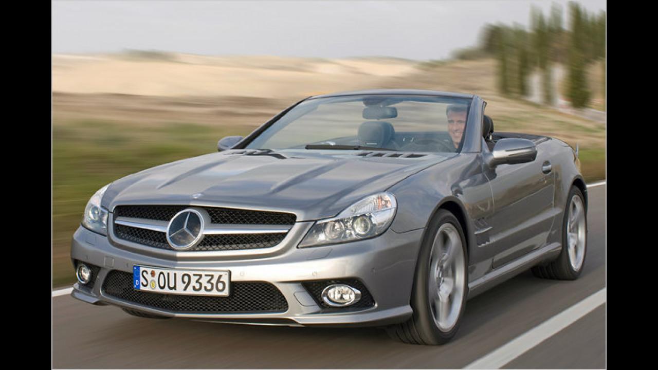 Sportwagen/Cabrios, 1. Platz: Mercedes SL