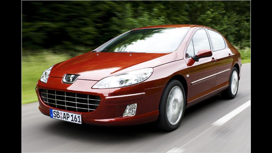 Peugeot 407 Navteq on Board: Hier ist das Navi gleich dabei