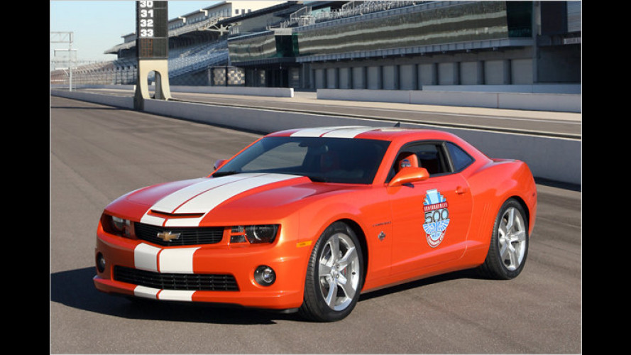 Camaro Indy 500: Sammler-Sondermodell