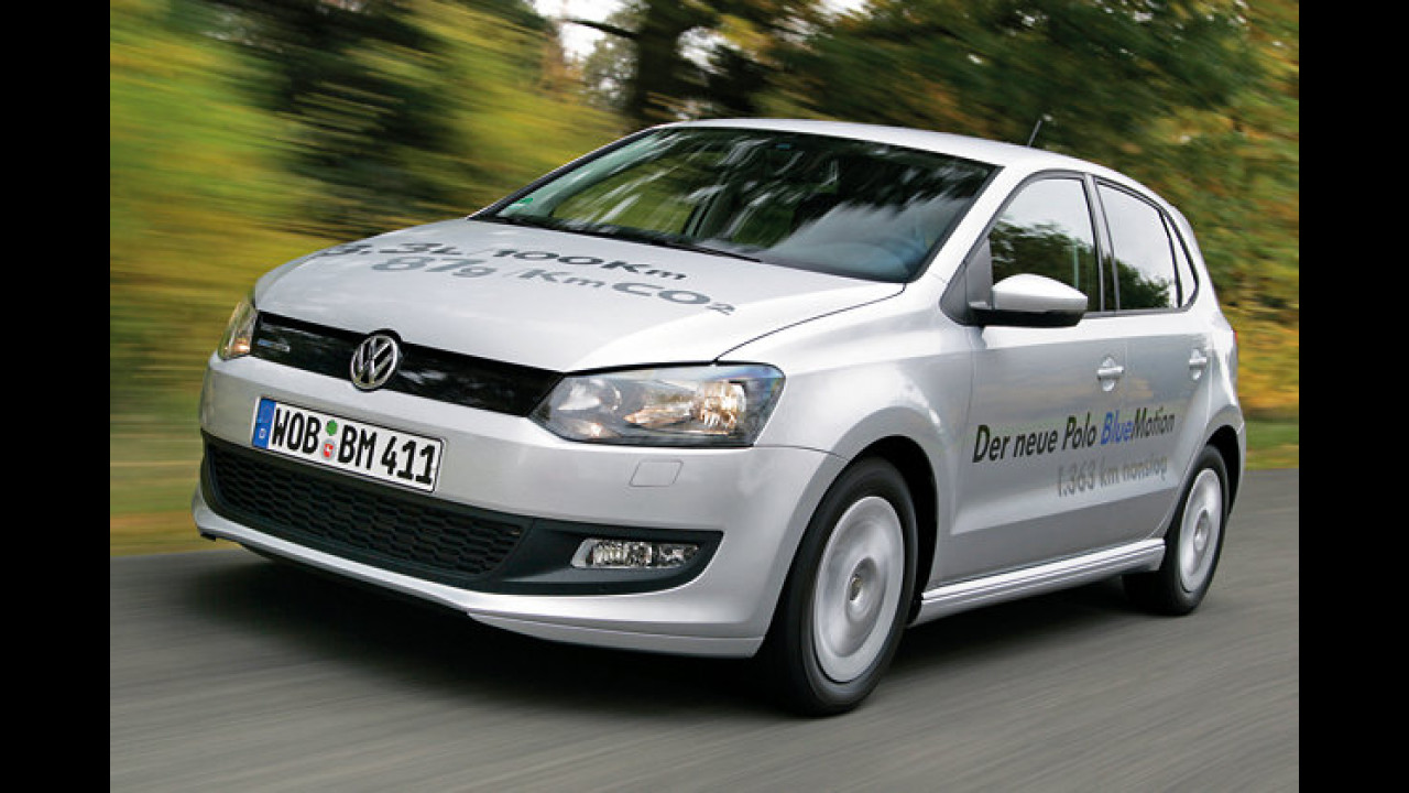 VW Polo BlueMotion (ab Anfang 2010)
