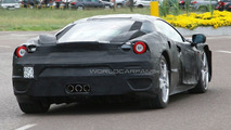 Ferrari F450 full body prototype spied again