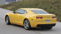 Updated 2011 Chevrolet Camaro spied