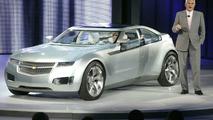 Bob Lutz Introduces The Chevrolet Volt Electric Concept At NAIAS
