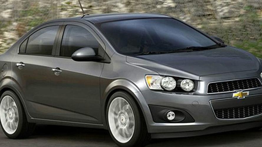 2012 Chevy Aveo Sedan Photos Released Early