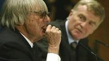 Bernie Ecclestone ja Max Mosley