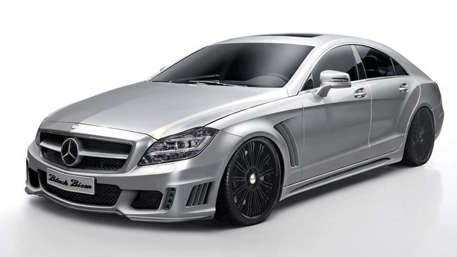 Matte black Wald S-Class and CLS-Class looking sexy [video]