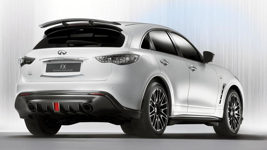 Sebastian Vettel's Infiniti FX50 S priced over 120K euros - report