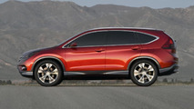 Honda CR-V concept officially unveiled [video]