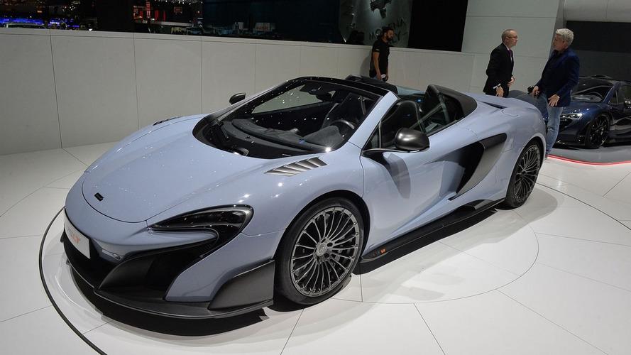 McLaren 675LT Spider arrives in Geneva as sold-out model