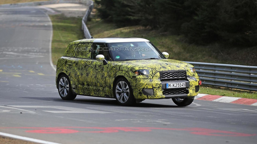 2017 MINI Countryman returns in fresh Nurburgring spy photos