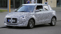 Suzuki Swift 2017 photos espion