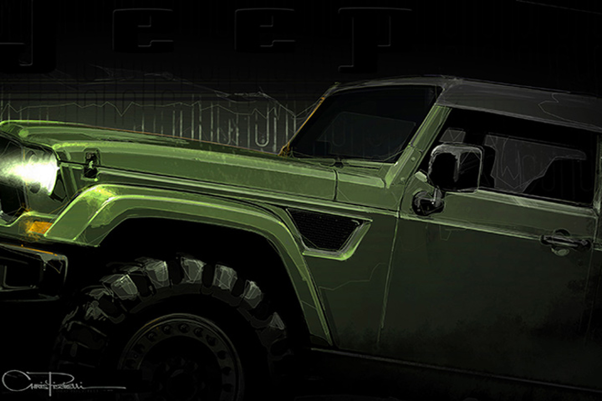 """Could The Jeep """"Trailcat"""" Concept Finally Be a Hellcat Wrangler?"""