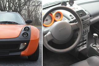 Not-so-Forbidden Fruit: This Smart Roadster Lives in the USA