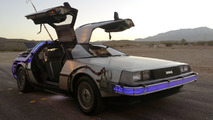 Back to the Future DeLorean on eBay